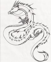 Chinese Dragon by watermelonxD
