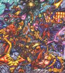 X-Men vs Magneto and the Acolytes by warpath28