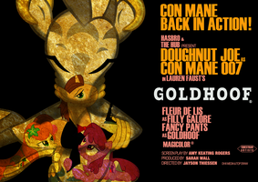 Goldhoof poster by Skeptic-Mousey