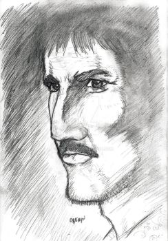 Oberyn face study by Treoth