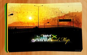 Jamaica Road Map Cover by lyrixist