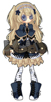 Musical Girl Auction! { CLOSED! } by Asterranaut