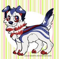 CLOSED | July 4th dog auction by gold-adopts