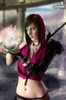 Just a quick Morrigan by cosplayerotica