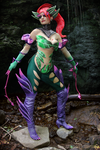 Zyra cosplay: Feel the thorns embrace by Nobodyyyyy