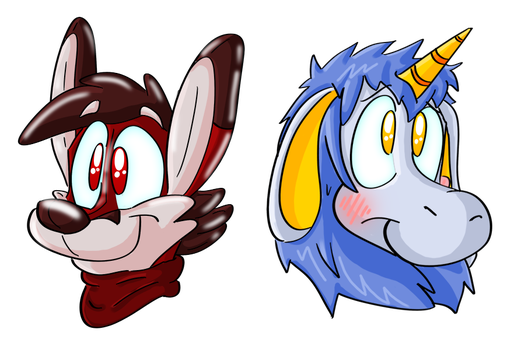 Jac Fox And Arin by Hukley