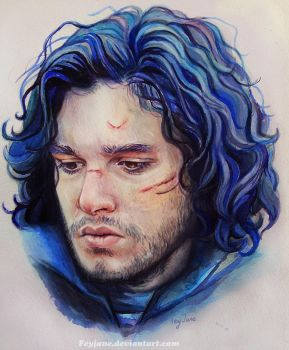 Jon Snow by Feyjane