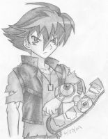 Character from Yu-Gi-Oh game by inukagome123