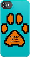 THE FURRY AND PROUD 8-BIT IPHONE/IPOD CASE IS OUT! by Damfurrywolf