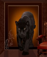 Black Jaguar Lives by JaneEden