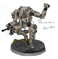 "M10 ""Linus"" Light Assault Walker by Auger-Affect"