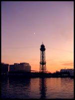 Barcelona port by BamBamsChica