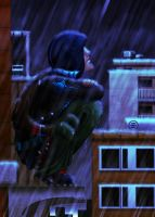 One Rainy Night by Lazy-a-Ile