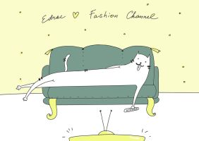 Edrac loves fachion channel ( by carde-app.com ) by CardeApp