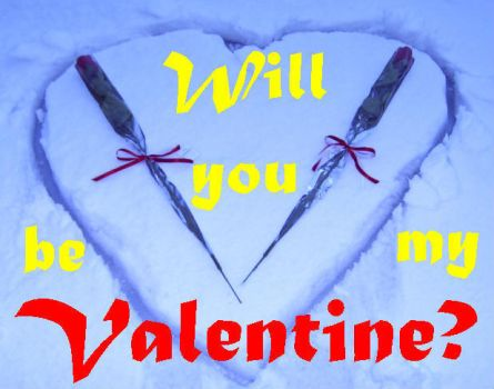 Snow Will You Be My Valentine? by Pierrimus