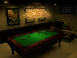 Pool Room by yellochevy02