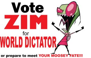 Vote 4 Zim PRINT VERSION by CaptainVendetta