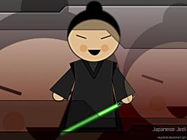 Japanese Jedi by reynante