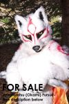 Amateratsu fursuit cosplay - FOR SALE by Hyokenseisou-Cosplay