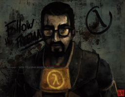 Follow the freeman by Syrphin