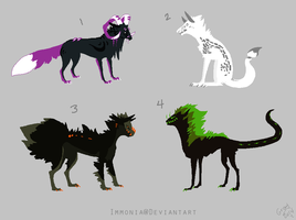 Canine Adopts 13 [CLOSED] by Adopt-Monstar