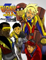 bionic six kids by lroyburch