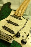 electric guitar by TrampledUnderFoot3d