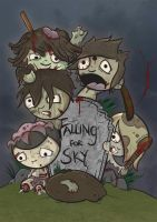 Falling for Sky Band Art Final by cute-death