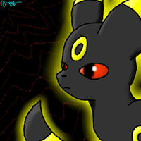 Umbreon~ by Gravitii-CS