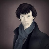 Sherlock by PaintedAbyss