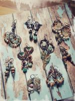Art Jewelry - Earrings by luthien27
