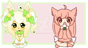 Collab: .::Mocha and Poppy::. by MechanicMocha