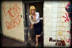 Shizuka Marikawa - Highschool of the Dead by AmandaKnabben