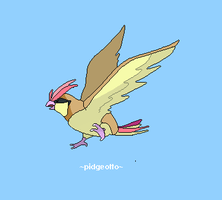 Pidgeotto 017 by juenavei