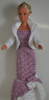 Lavender Barbie Gown by amarilliss