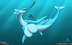 [T] Nessie's undersea lunch by Sabre471