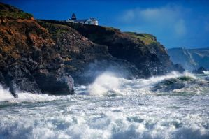 Fierce Cornish Seas by MuttleyMcFester