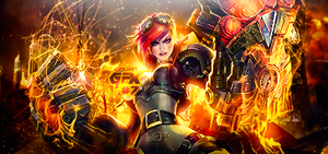 League of Legends Vi Signature by JovanXtremeDesign