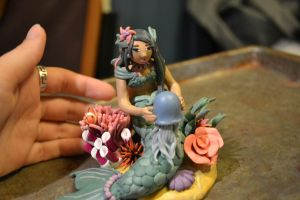 Clay Mermaid 1 by sing2mi