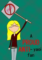 a proud anti-yaoi fan by dgirl1224