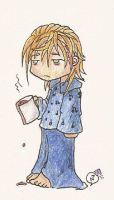Demyx...in the morning by NarcolepticPenguin