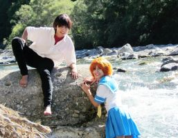 Keiichi and Rena [Higurashi Cosplay] by Amiranne