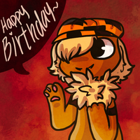 Happy Birthday OwO by 8-Bitten