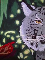 Lynx Painting by Jazzy-Warrior