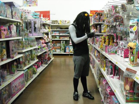 Cosplay: Equius at the Wal*Mart by ymmot392