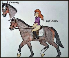 Margery and Tabby by Purple-Hippie