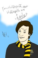 Hufflepuff Doctor by perfectlypunky