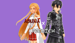 PREVIEW: KH Style ASUNA and KIRITO by VirtuousNamine