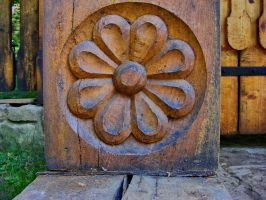 Wooden_Flower_stock by drowned-in-air-stock