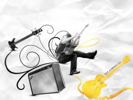 Bass player wallpaper by filipdinev1